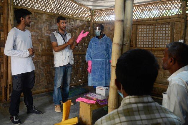training artsen zonder grenzen beschermende uitrusting corona bangladesh
