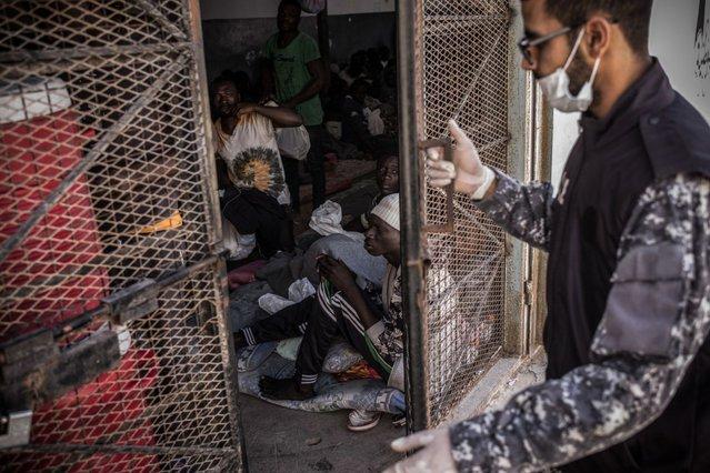 Abu Salim detentiecentrum Libië