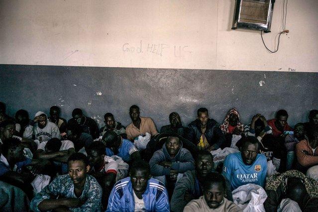 Libië detentiecentrum
