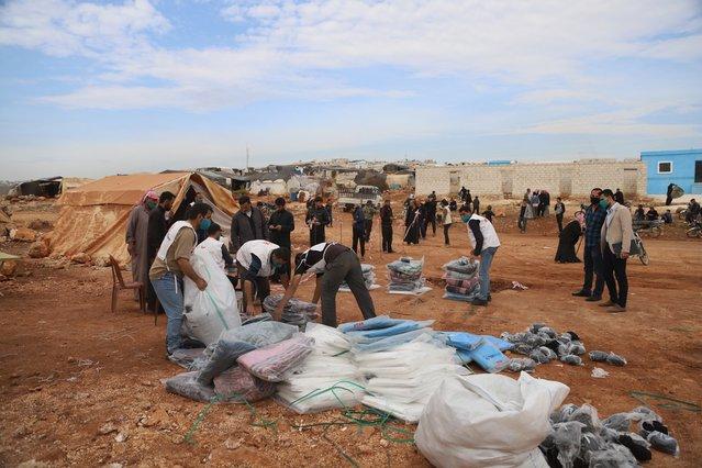 artsen zonder grenzen winterhulppakketten vluchtelingen conflict syrie
