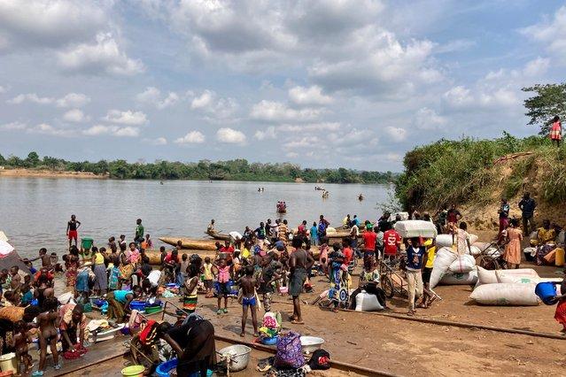 vluchtelingen rivier centraal-afrikaanse republiek dr congo
