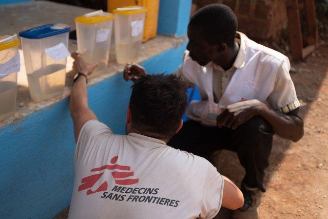water-en-sanitatiespecialisten artsen zonder grenzen dr congo
