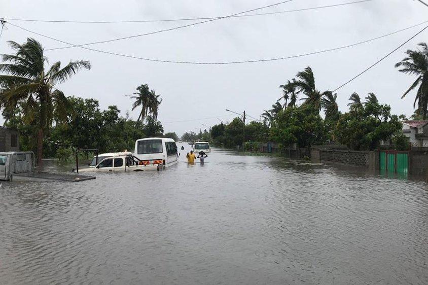 mozambique cycloon overstromingen Eloise
