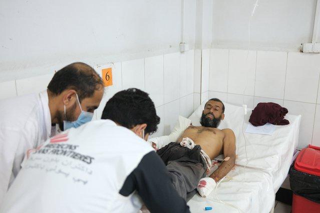 Mahmood werd neergeschoten terwijl hij en zijn familie hun huis net buiten Lashkar Gah waren ontvlucht.