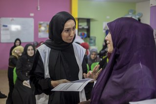 Wafaa, Midwives Supervisor at MSF's clinic in Bourj El Barajneh camp in South Beirut