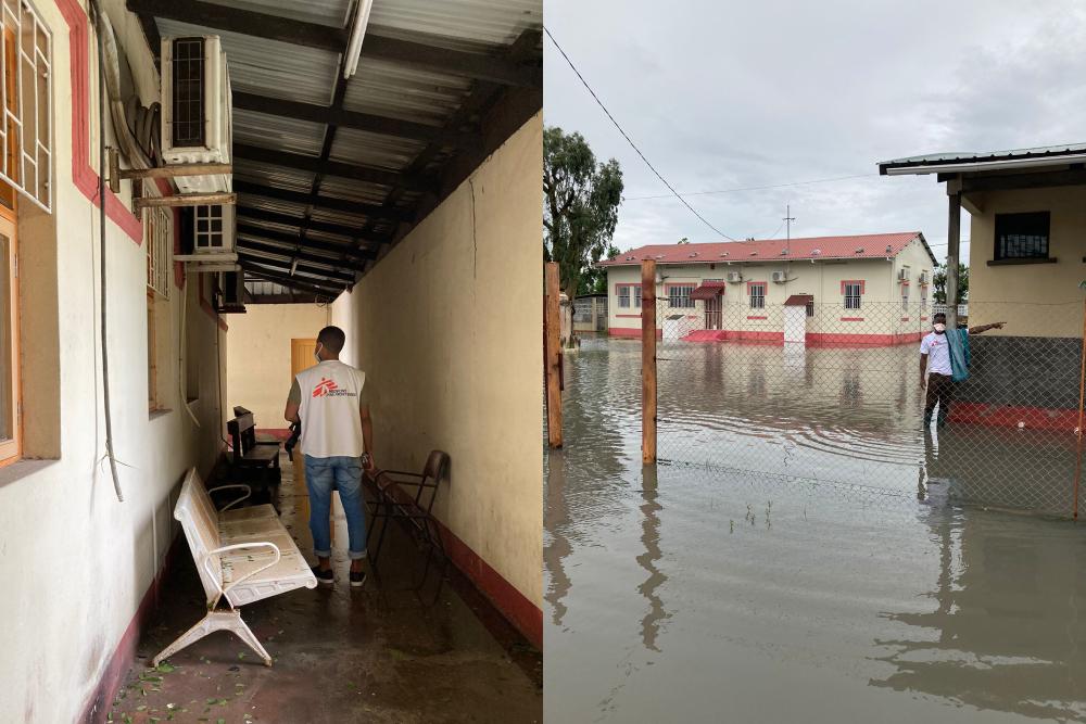 mozambique cycloon azg teams gezondheidscentrum kliniek