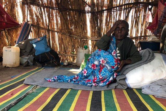 Soedan, bij de grens met Ethiopië, Tigray