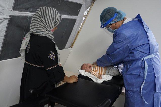 baby moria brand artsen zonder grenzen kliniek