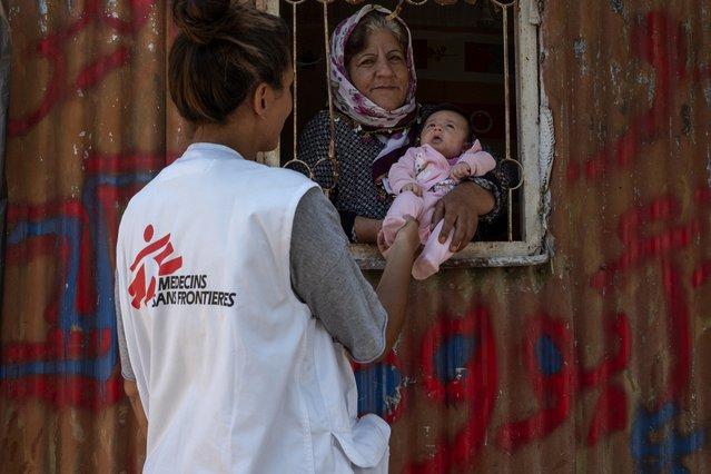 gezondheidsvoorlichters artsen zonder grenzen kamp vathy samos